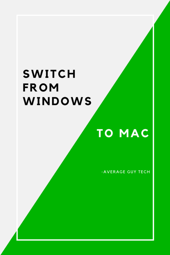 www.avgguytech.com - Switch from Windows to Mac